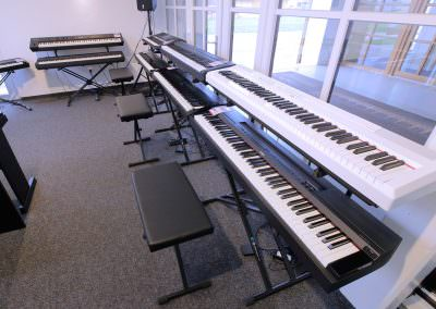 Ausstellung Stage-Pianos