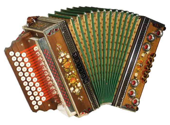 Leihinstrument Steirische Harmonika Müller
