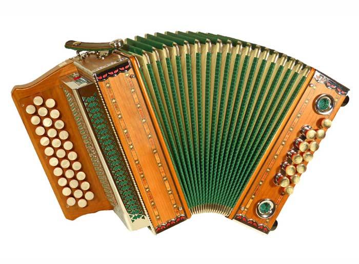Leihinstrument Steirische Harmonika Mini-Steirische