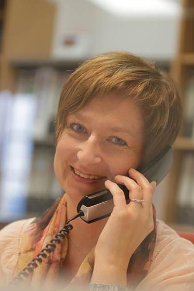 Rosina Rumberger, Sekretärin