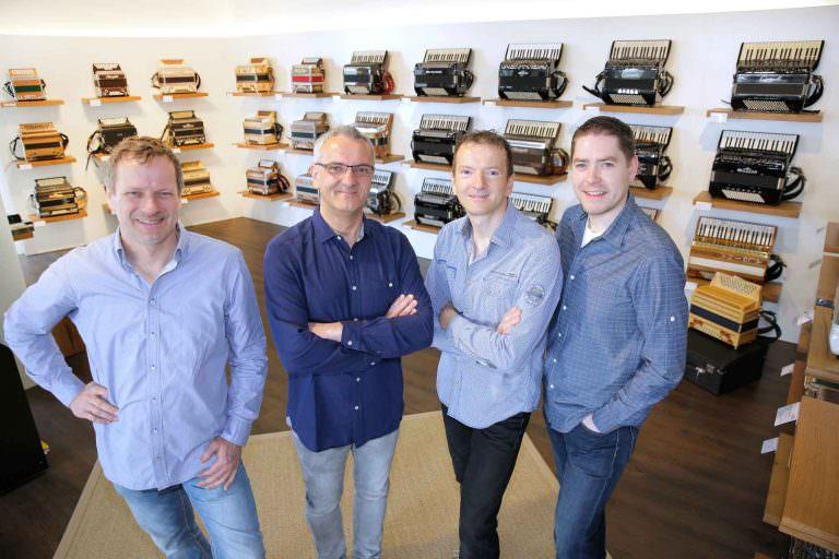 Das Team von Musik Rumberger