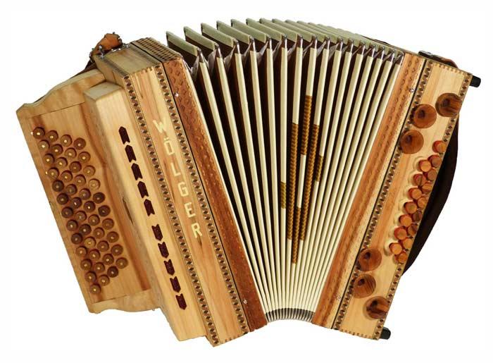 Leihinstrument Steirische Harmonika Wölger