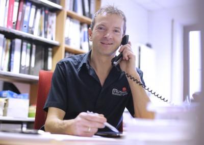 Peter Rumberger, Spezialist für E-Pianos