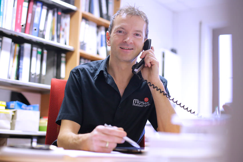 Peter Rumberger, Spezialist für Akkordeons