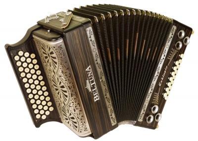 Steirische Harmonika Beltuna Alpstar IV D Exclusiv Ebano