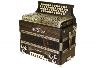 Steirische Harmonika Beltuna Alpstar IV D Exclusiv - Ebano