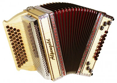 Steirische Harmonika Alpengold Stubach Klassik 36