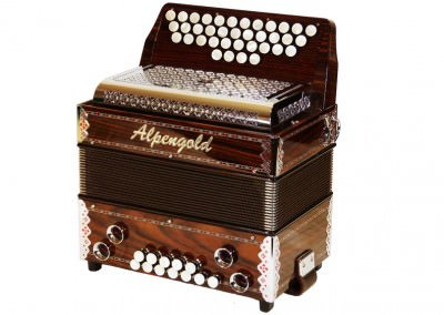 Steirische Harmonika Alpengold Sinova Junior 23 Palisander