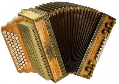 Steirische Harmonika Müller Olive