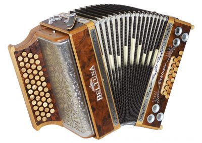 Steirische Harmonika Beltuna Alpstar IV D Exclusiv - Nusswurzel