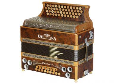 Steirische Harmonika Beltuna Exclusiv Nuss