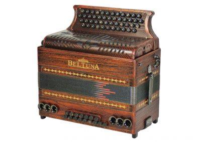 Steirische Harmonika Beltuna Alpstar IV D Exclusiv Fly - Kupfer Antik