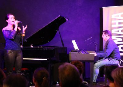 Yamaha Ladenkonzert für E-Pianos bei Musik Rumberger