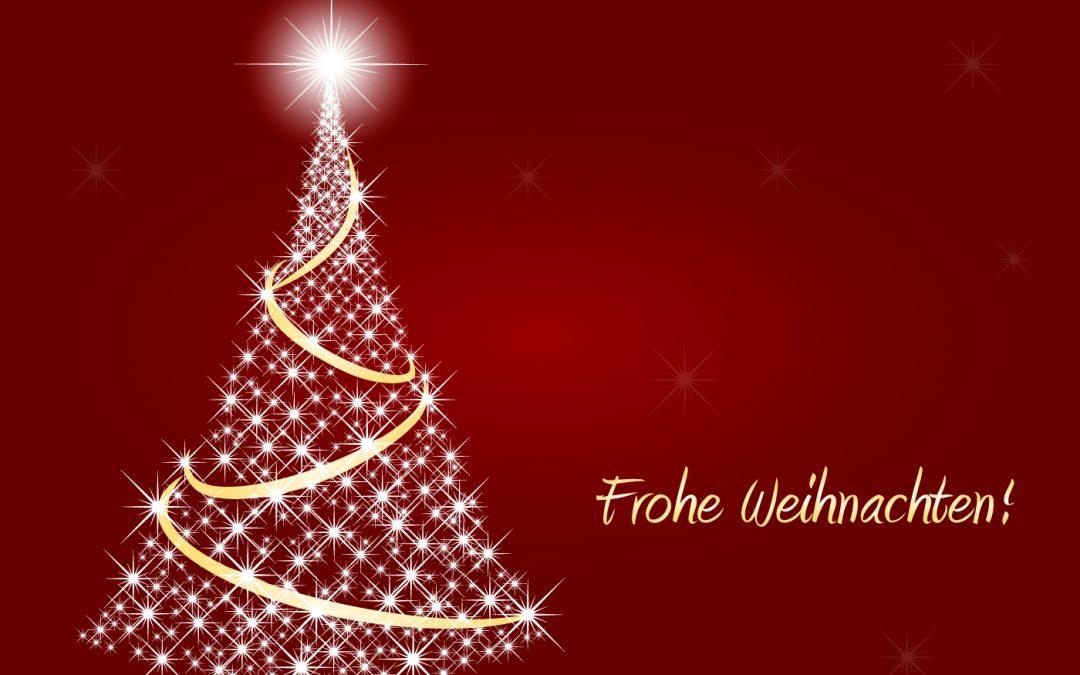 Frohe und gesegnete Weihnachten