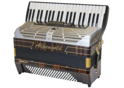 Akkordeon Alpengold Krainer 3M Makassar Matt