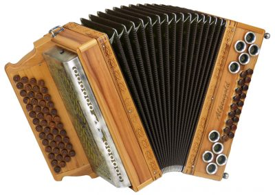 Steirische Harmonika Alpengold Original 50/18 Apfel