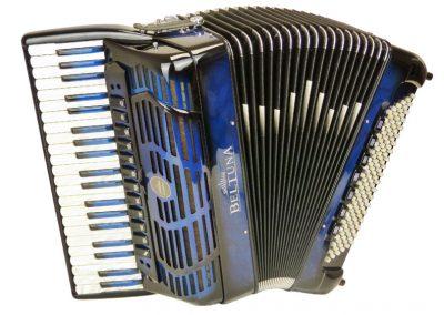 Akkordeon Beltuna Leader IV 120 P Compact - Olivo Blue