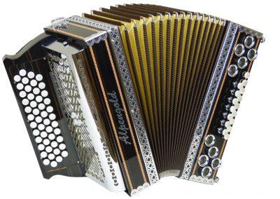 Gebrauchte Steirische Harmonika Alpengold Stubach Klassik - Makassar
