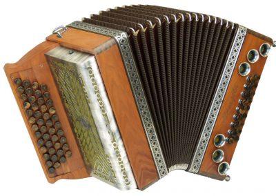 Steirische Harmonika Alpengold Tirol 3 Zwetschge
