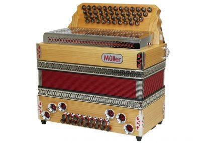 Steirische Harmonika Müller Jubiläum - rot