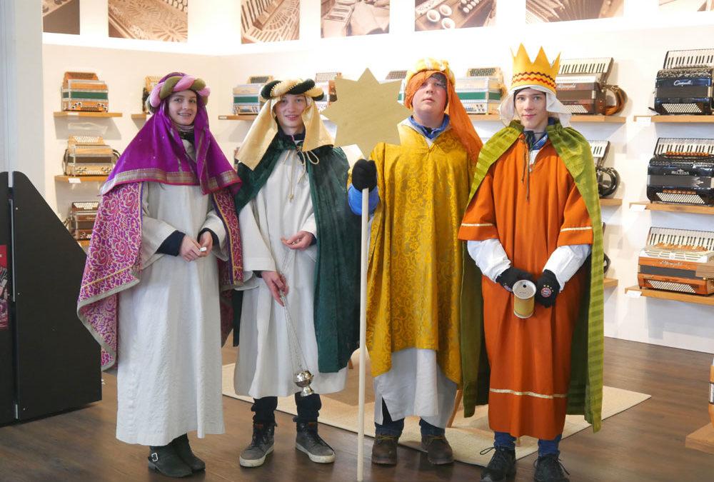 Heilige Drei Könige bei Musik Rumberger