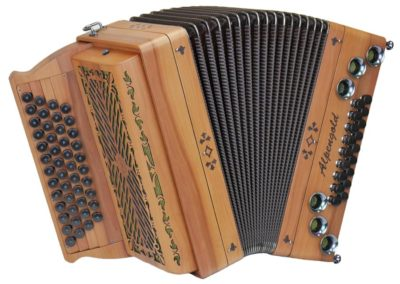 Steirische Harmonika Alpengold Tirol 2 Apfel