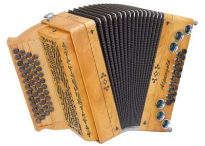 Steirische Harmonika Alpengold Tirol 2 Eibe