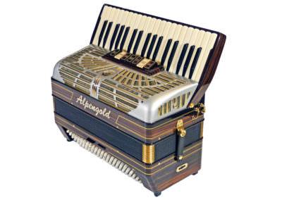 Akkordeon Alpengold Krainer IV S - Makassar