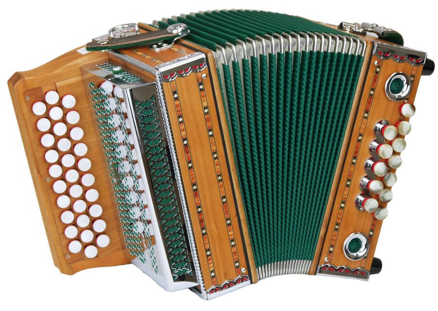 Leihinstrument Steirische Harmonika Guerrini Ministeirische