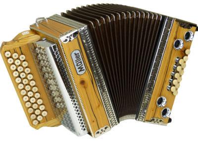 Steirische Harmonika Müller Rot-Tanne