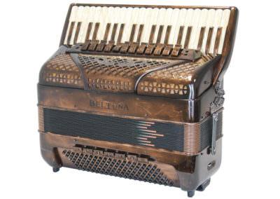 Akkordeon Beltuna Spirit IV 120 P - Vintage Kupfer