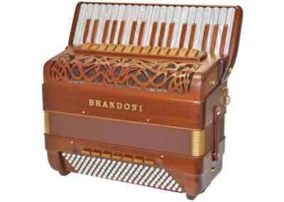 Akkordeon Brandoni Mod. 147W LI - Mahagony
