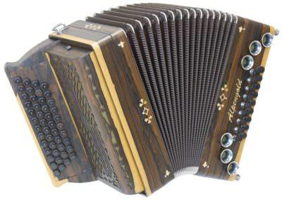 Steirische Harmonika Alpengold Tirol 2 - Ziricote