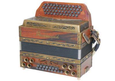 Gebrauchte Steirische Harmonika Puschtra Gold