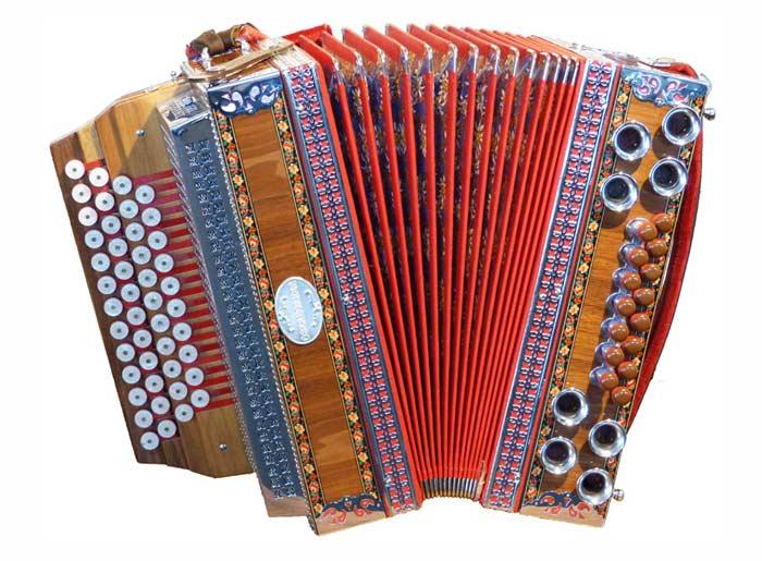 Leihinstrument Steirische Harmonika Oberhorner