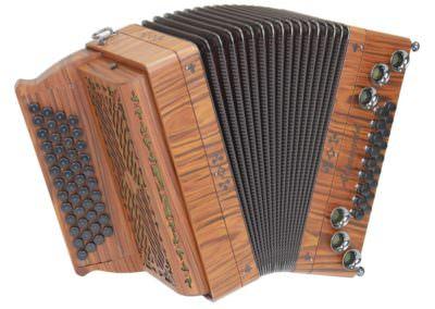 Steirische Harmonika Alpengold Tirol 2 Santos Palisander