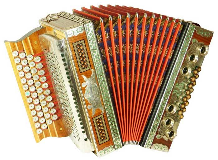 Leihinstrumente Steirische Harmonika Strasser