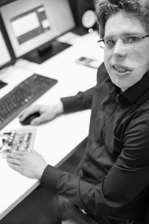 Tobias Glas, Entwicklungsingeneur