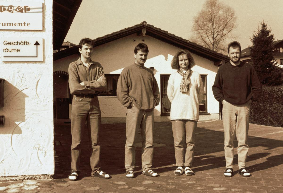 Historie - GmbH-Gründung 1993