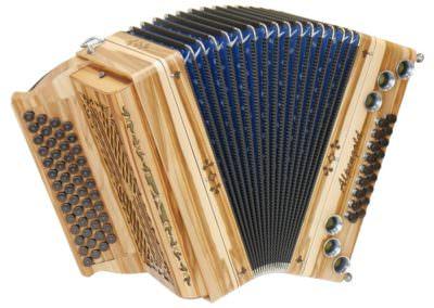 Steirische Harmonika Alpengold Pix 1 - Satin Nuss