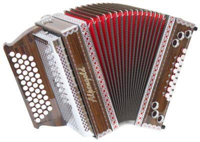 Steirische Harmonika Alpengold Stubach Klassik 36 Palisander