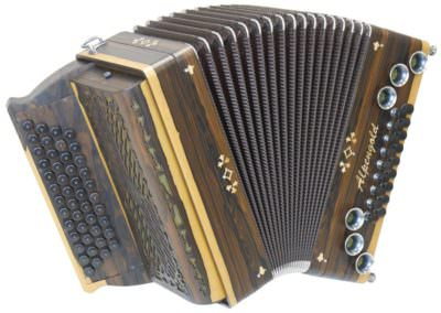 Steirische Harmonika Alpengold Tirol 2 Ziricote