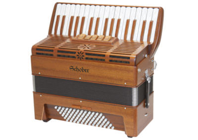 Akkordeon Schober 343 Wood Mahagoni