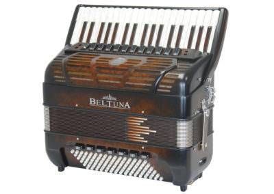 Akkordeon Beltuna Prestige IV 96 P Compact - Nusswurzel