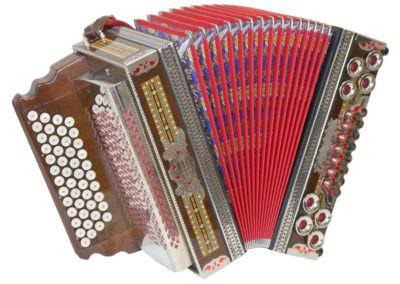 Gebrauchte Steirische Harmonika Max Winkler