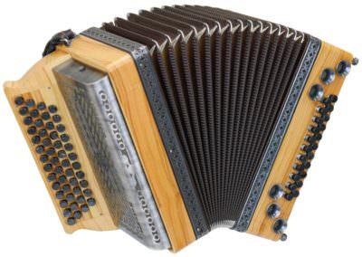 Steirische Harmonika Alpengold Tirol 1 Olive