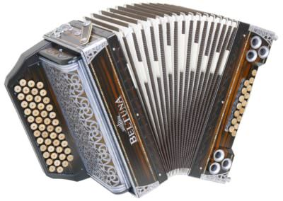Steirische Harmonika Beltuna Alpstar IV D Emotion - Ebenholz