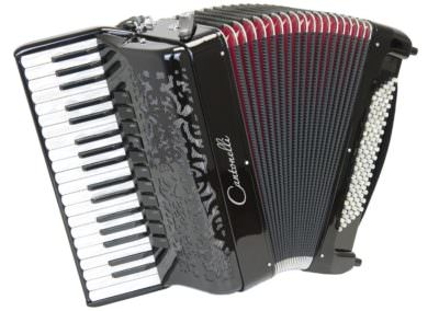 Akkordeon Cantonelli 374 Compact, gebraucht