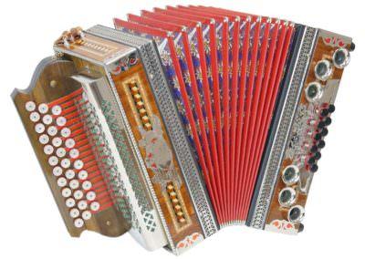 Gebrauchte Steirische Harmonika Kärntnerland 3-reihig