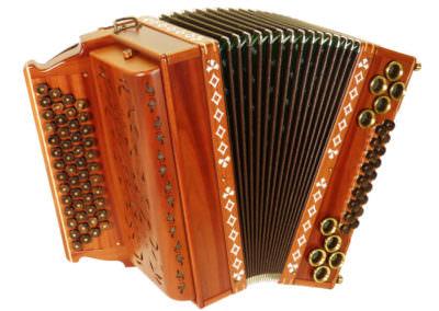 Steirische Harmonika Alpengold 50/18 Zwetschge